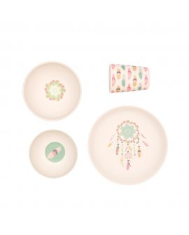 Bamboo 4pc Set - Dreamy Supper