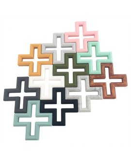 Swiss Cross Teether