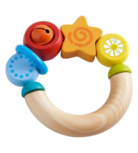 HABA - CLUTCHING TOY LITTLE STAR RATTLE