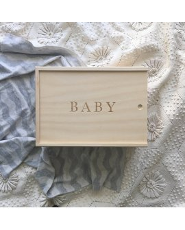 Baby Keepsake Box - Box Only