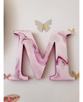 Customized Hand Painted Wooden Letter
