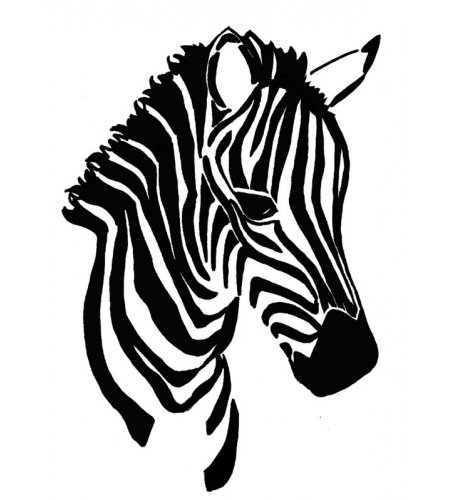 Zebra art print black and white nursery art zebra kids art jungle nursery print safari nursery kids zebra art
