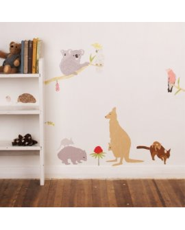 Australiana Wall Stickers