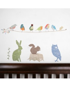 Forest Critters for Boys