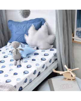 Cloud Chaser I Fitted Cot Sheet