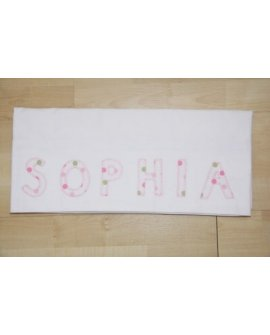 Personalised Cot Sheet Set