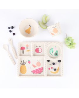 Bamboo 5pc Set-Eat Your Green