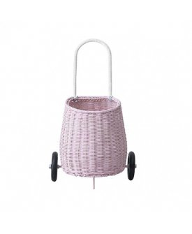Luggy basket pink
