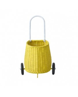 Luggy basket yellow