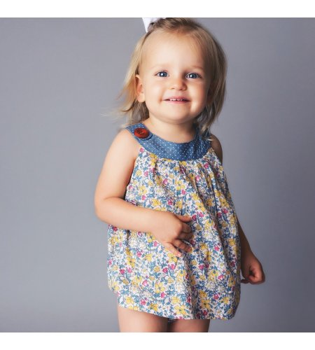 Love Henry Baby girl Sofia- Bright Floral