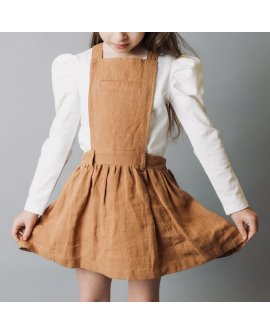 Love Henry Girls Betty Pinafore - Bronze