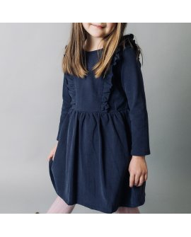 Love Henry Girls Florence Dress - Navy