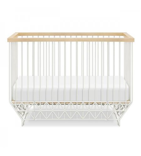 Ubabub Mod Cot - White and Natural