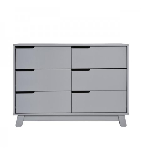Hudson Dresser 6 Drawer Grey