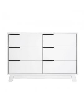 Hudson Dresser 6 Drawer White