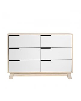 Hudson Dresser 6 Drawer  Natural