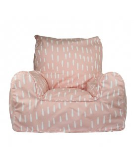 Pink Raindrops Chair